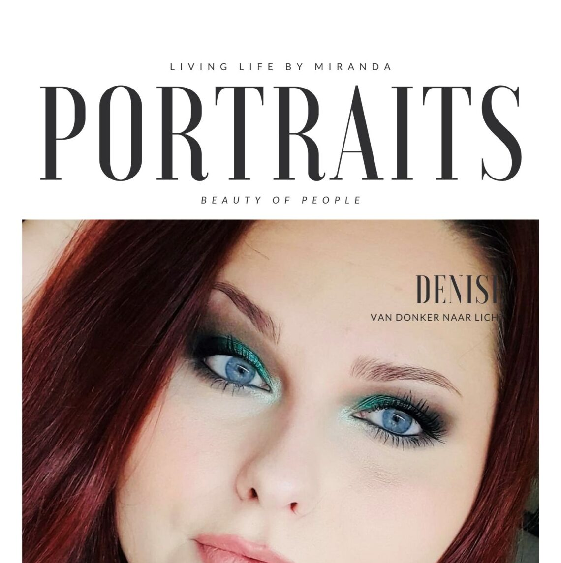 Voorpagina Portraits: Beauty of People DENISE